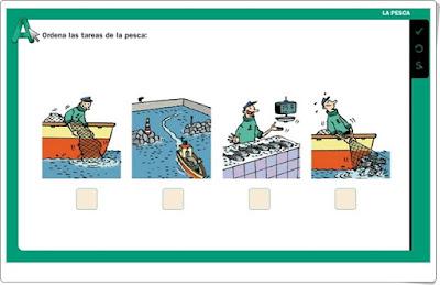 La pesca Editorial La Galera 2º de Primaria
