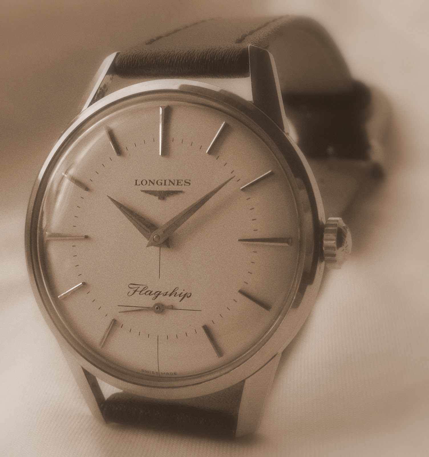 Andy B Vintage Watches 1959 Longines Flagship Cal 30l