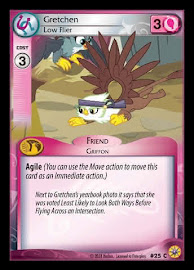 My Little Pony Gretchen, Low Flier Friends Forever CCG Card