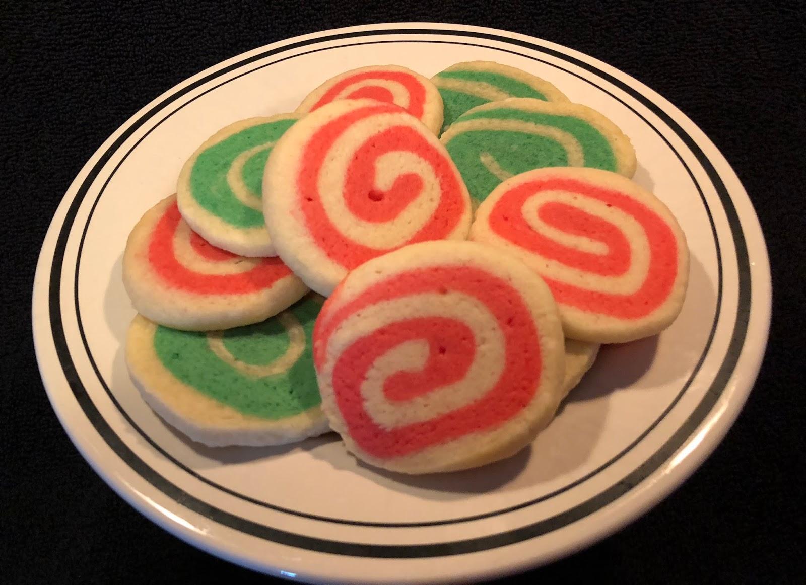Cooking With Joey Christmas Pinwheel Cookies