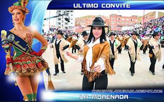 Ultimo convite del carnaval de Oruro