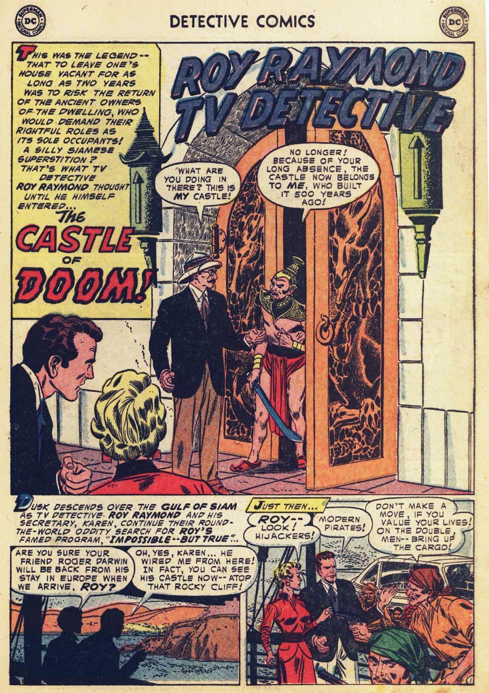 Read online Detective Comics (1937) comic -  Issue #215 - 27
