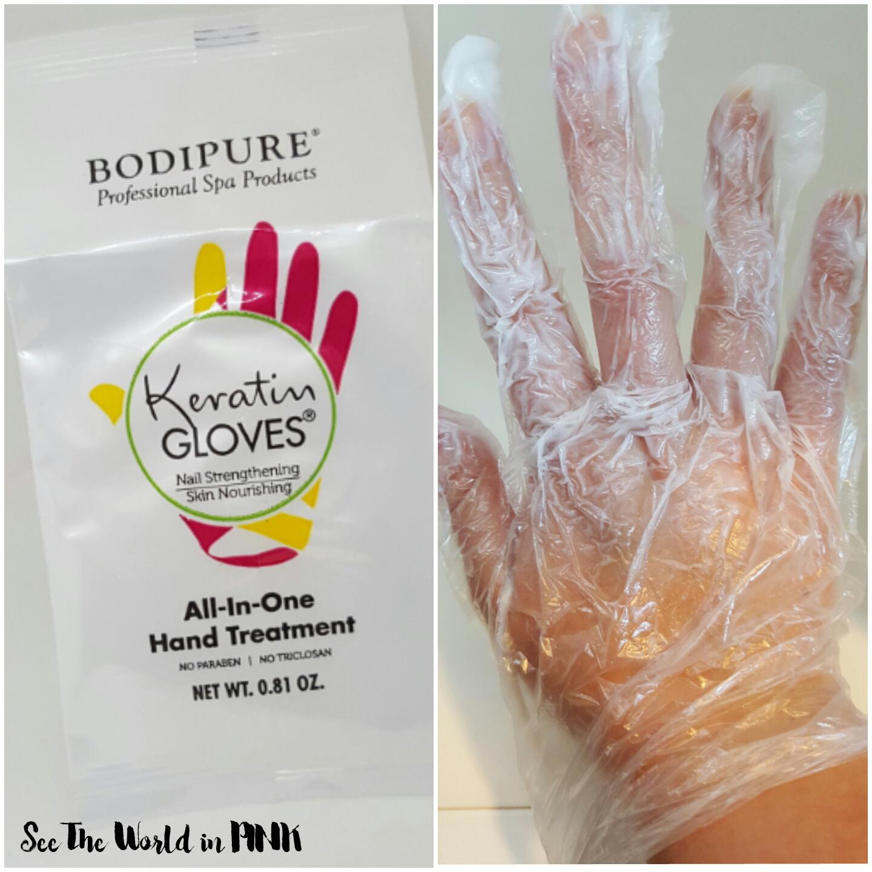 keratin gloves mask