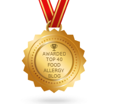 Top 40 Food Allergy Blog Award