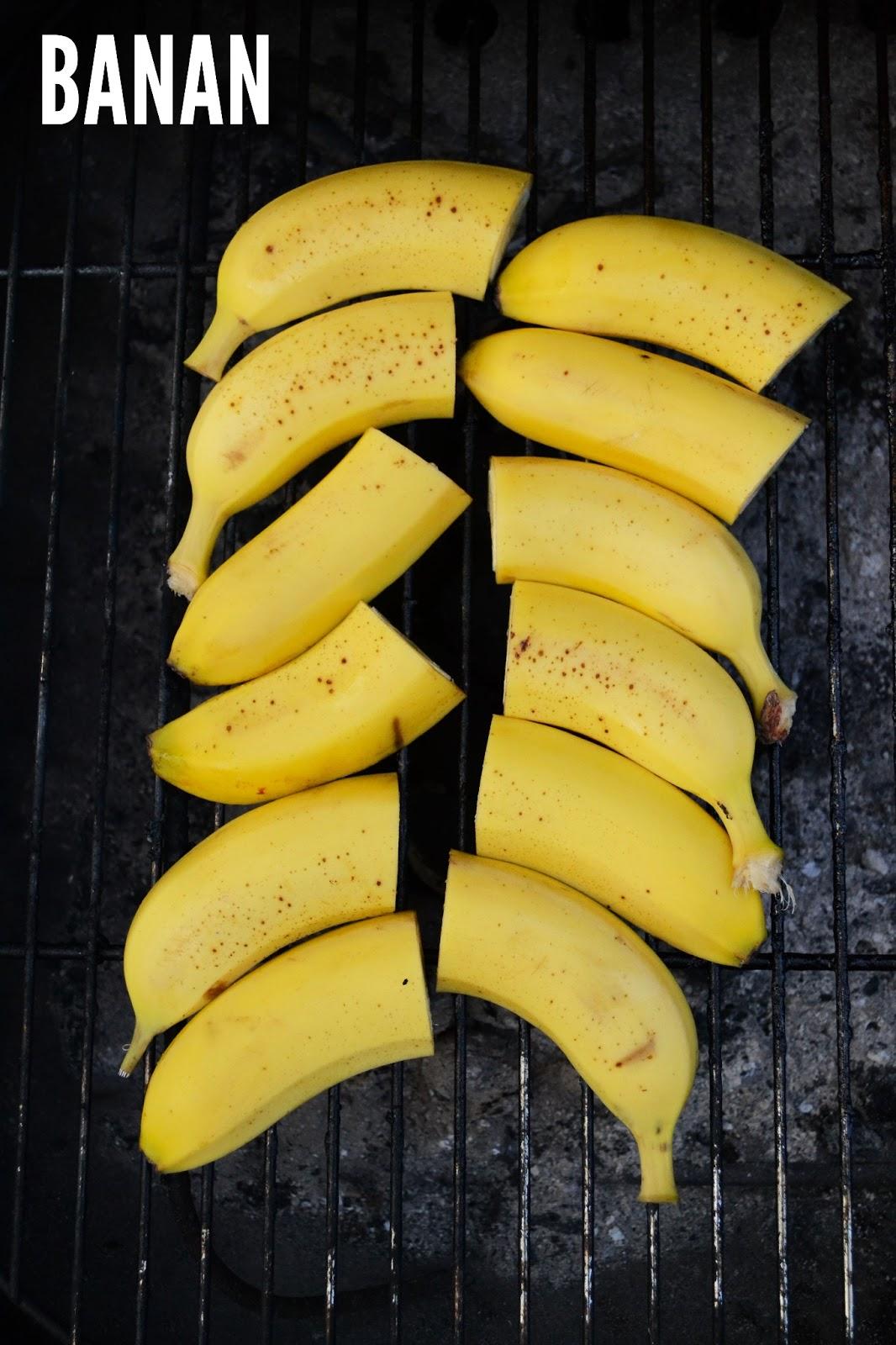 desserter med banan