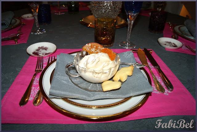 Crème glacée au marron et au Grand Manier