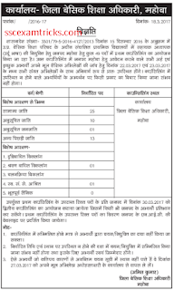 UP Mahoba District counselling for Urdu Teacher