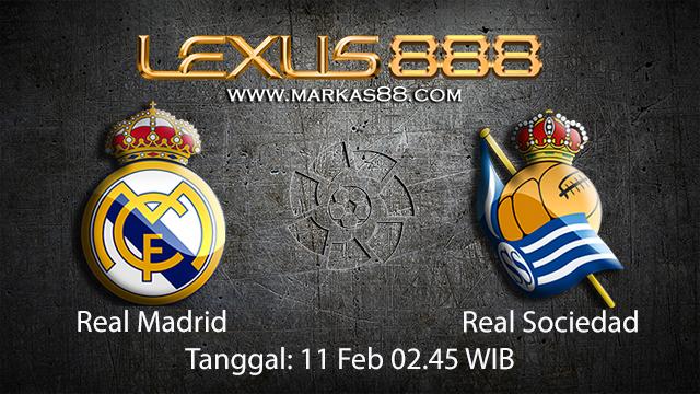 PREDIKSIBOLA - PREDIKSI TARUHAN BOLA REAL MADRID VS REAL SOCIEDAD 11 FEBRUARI 2018 ( SPANISH LA LIGA )