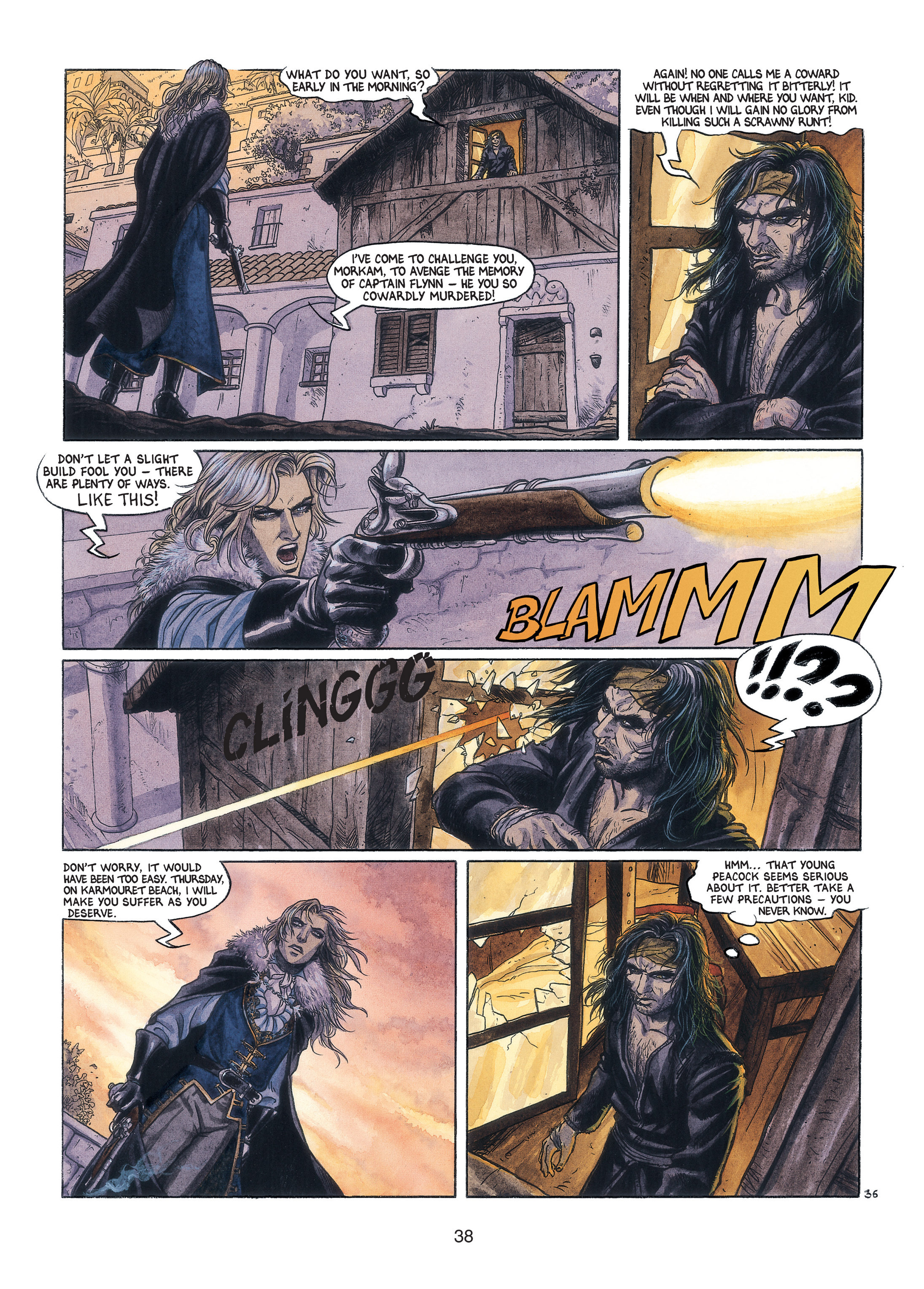 Read online Barracuda comic -  Issue #3 - 39