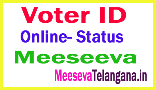 Voter Id Online Application in Meeseva I Andhra Pradesh Voter Id Apply