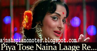 Piya Tose Naina Lagey Re | Guide Piano Notes