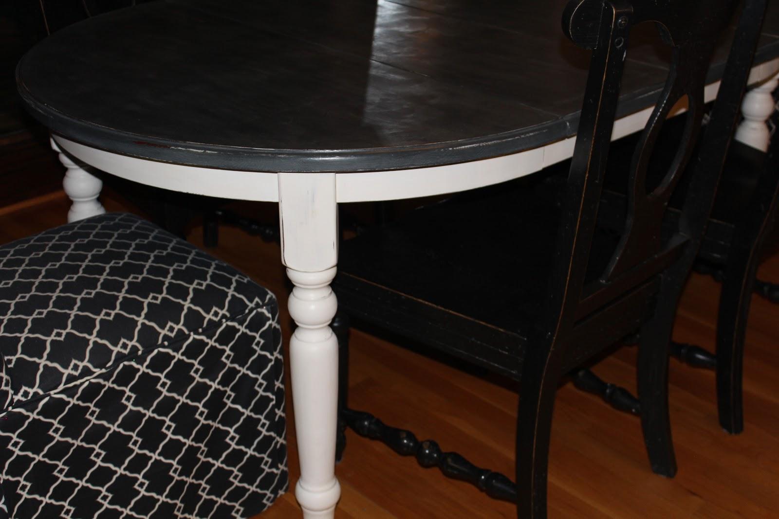 chalk paint kitchen table painted kitchen tables Antsi Pants