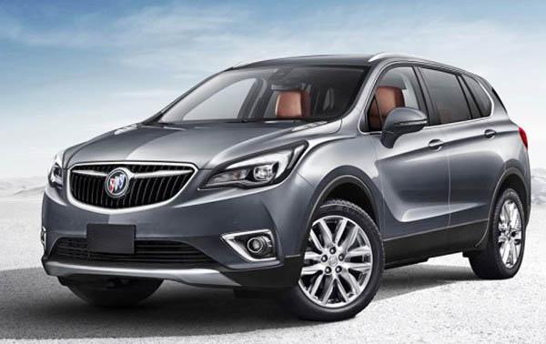 Burlappcar 2018 Buick Envision