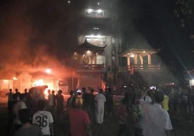 Kerusuhan di Tanjung Balai Dipicu dari Pelarangan Adzan