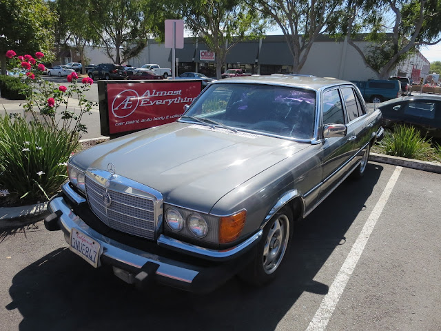 1979 Mercedes Benz with complete car paint job from Almost Everything Auto Body.