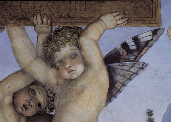 Andrea mantegna la camera degli sposi 1465 1474 art for Oculo della camera degli sposi