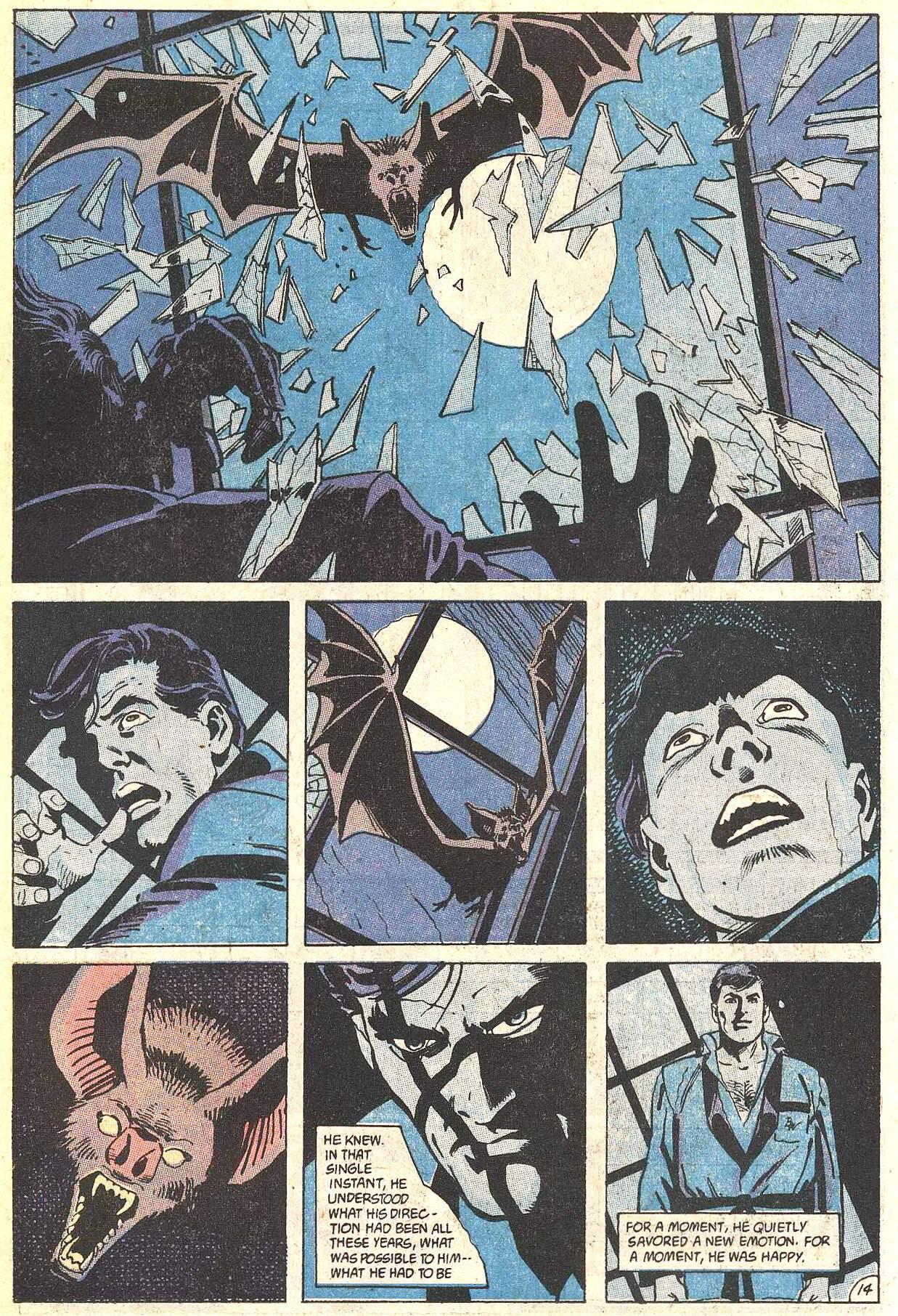 Psychology of Bruce Wayne RCO021
