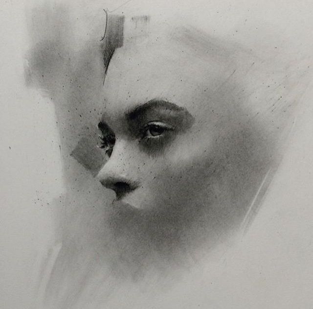 01-Casey-Baugh-Expressive-Charcoal-Portrait-Drawings-www-designstack-co