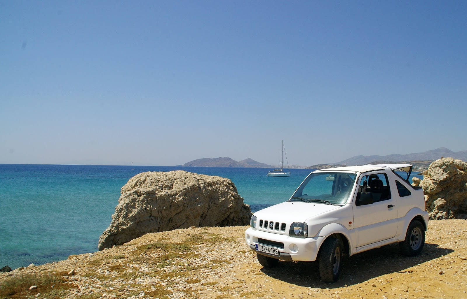 Exploring Paros Island by Car