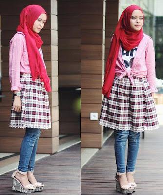 Fashion Hijab Untuk Orang Pendek 2