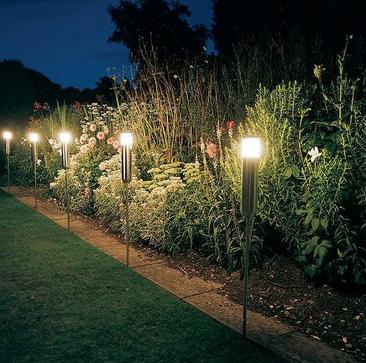 Unique garden lights for the pretty garden