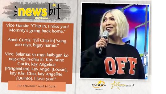Angel, Anne, Angelica, Angeline, And Kim Chipped In To Buy Vice Ganda A Chow Chow!
