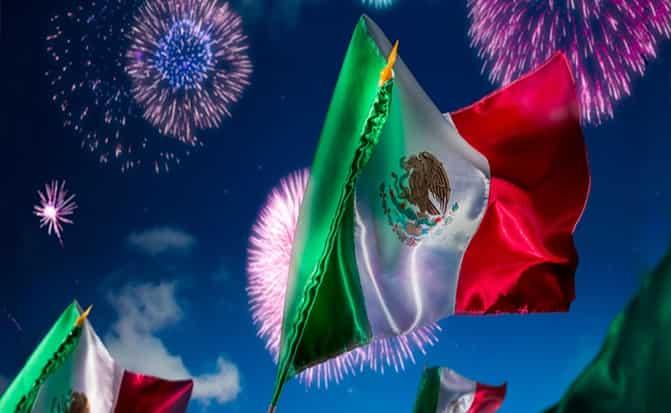 Bandera, Mexico, festejo