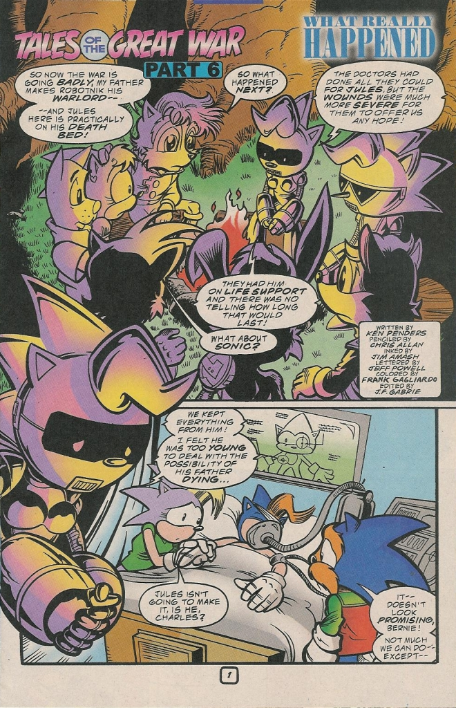 Read online Sonic The Hedgehog comic -  Issue #78 - 23