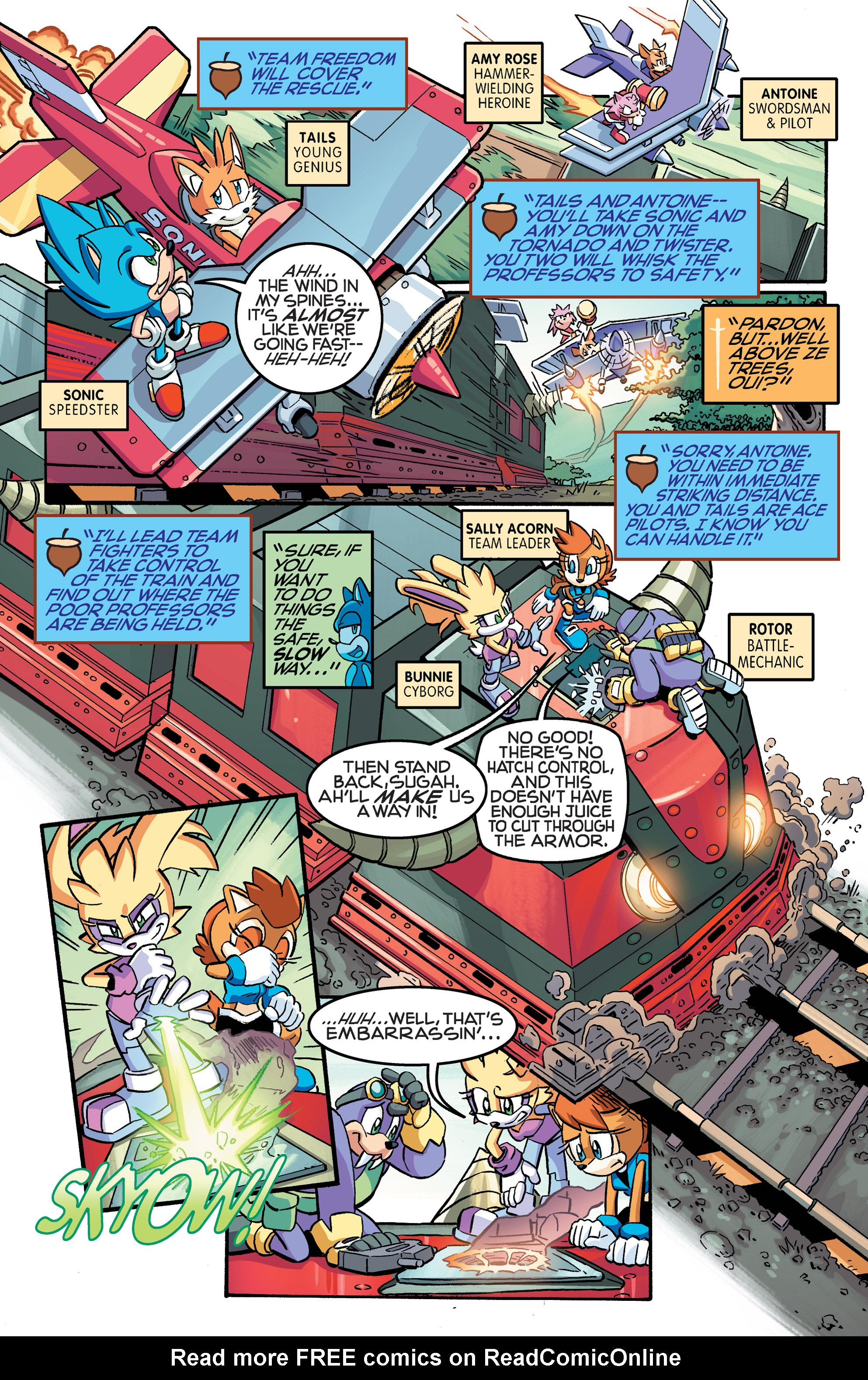 Read online Sonic The Hedgehog comic -  Issue #258 - 5