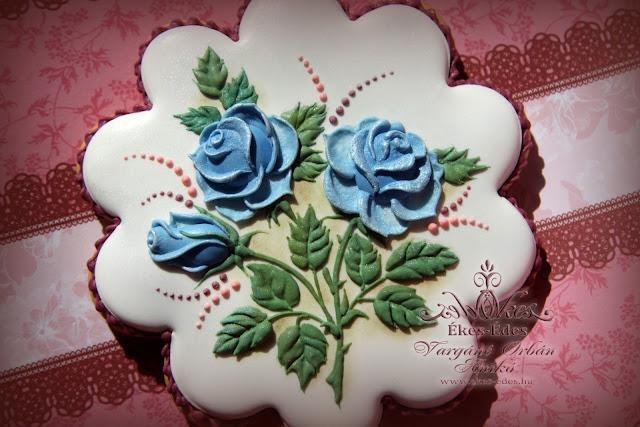 rózsás mézeskalács