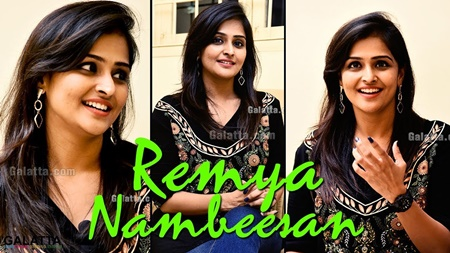 He hit me and I almost cried| Remya Nambeesan reveals the Fun & Fights behind Sathya