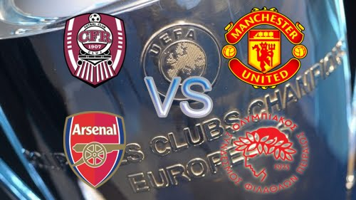 UEFA Champions League 2012 2013 Arsenal vs Olympiakos Piraeus | UEFA Champions League 2012 / 2013 | Live