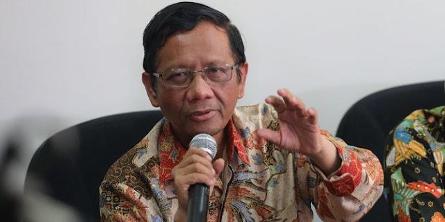 Tanggapi Pertanyaan Maulid Nabi Bid'ah, Mahfud MD: Jangan Memprovokasi