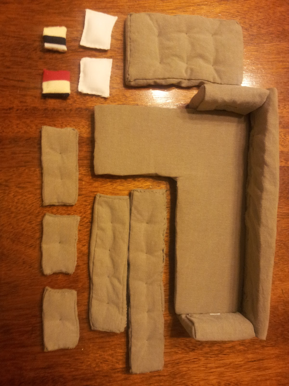 dollhouse miniature sectional sofa twin bed mattress covers diy