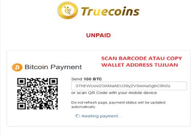 Tutorial Deposite Truecoins Ltd