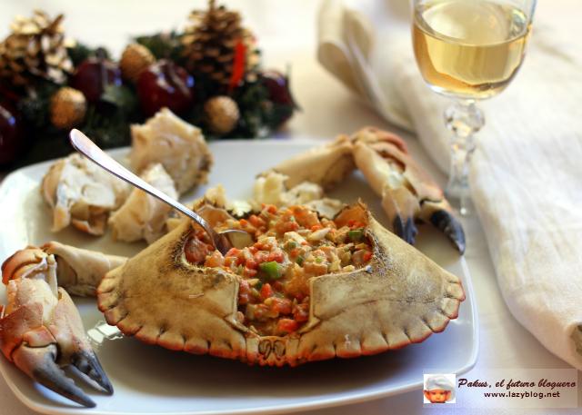 Lazy blog c mo limpiar un buey de mar o centolla y for Cena romantica que cocinar