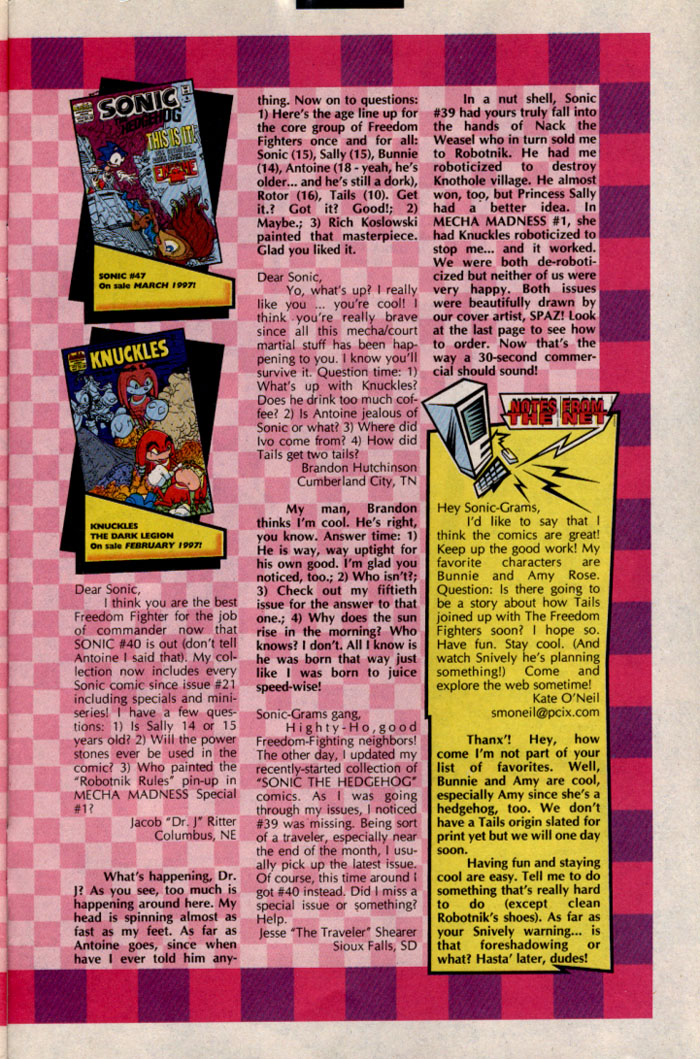 Read online Sonic The Hedgehog comic -  Issue #46 - 29