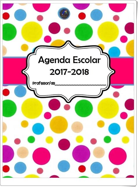"""""""Agenda Escolar 2017-2018 con motivos de hadas"""""""