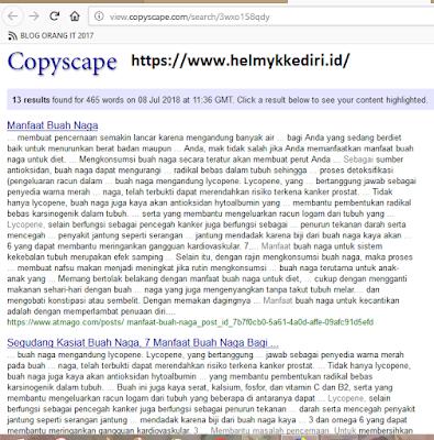 menggunakan copyscape premium gratisb