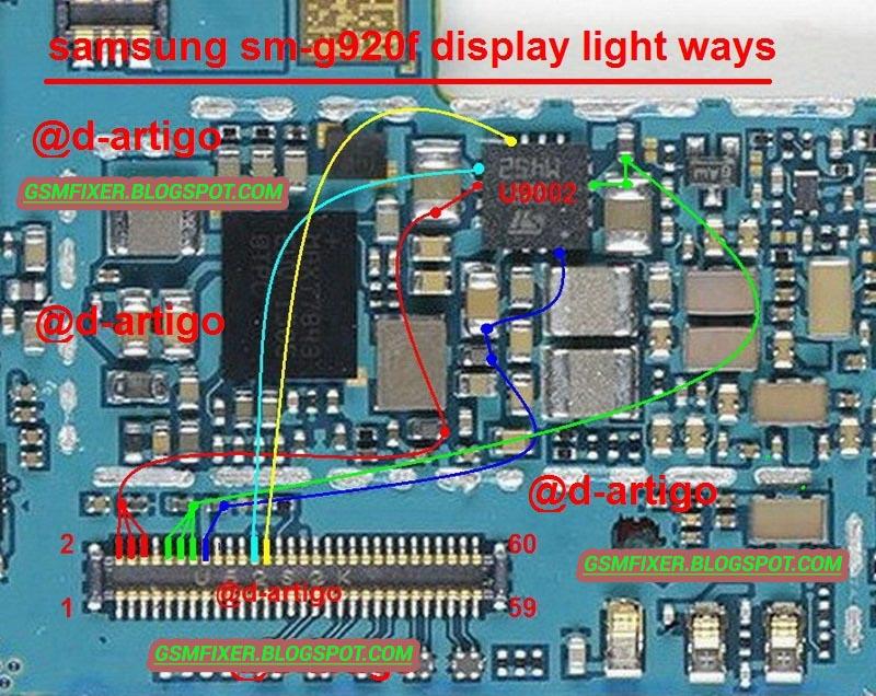 Samsung Galaxy S6 G920F Display Light Solution Ways | gsmfixer