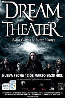 Cartel Dream Theater Chile 2005