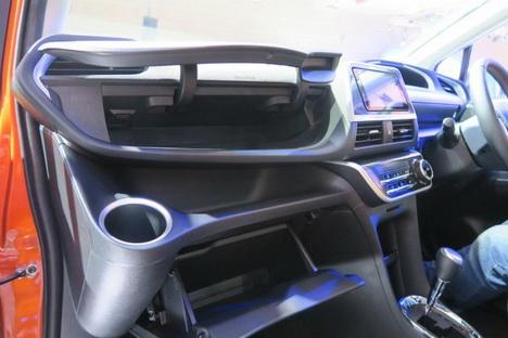 Interior Toyota Sienta