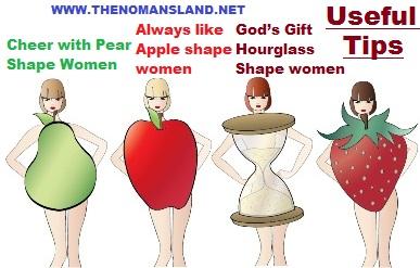 Female shapes and sedative dresses