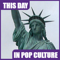 The Statue of Liberty arrived in New York on June 11, 1885.