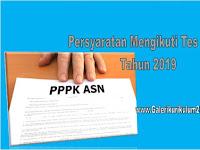 Berikut Daftar Persyaratan Mengikuti Tes Seleksi PPPK 2019