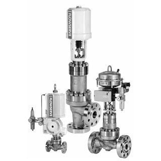 Three industrial valves for severe service