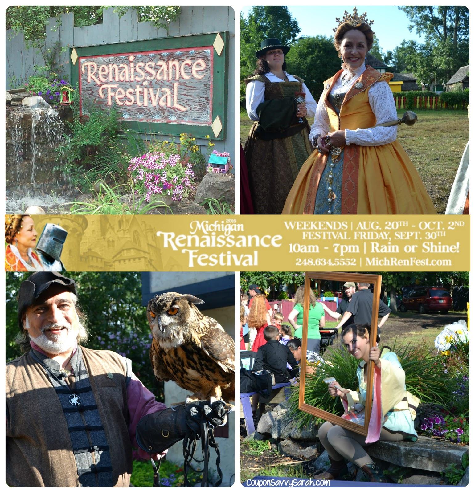 Renaissance festival discount coupons