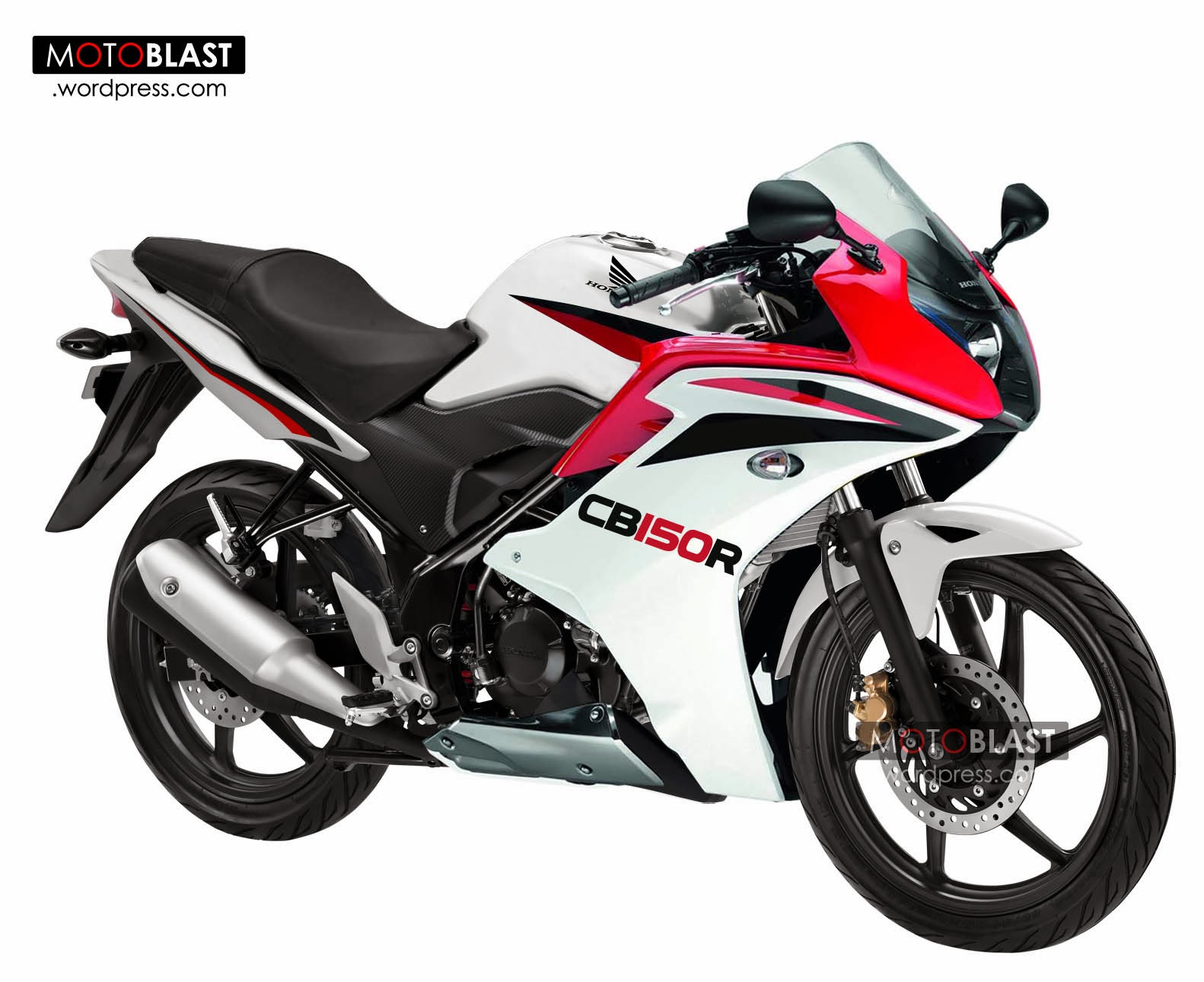 103 Modifikasi Motor Cb 150 R Warna Merah Modifikasi Motor Honda