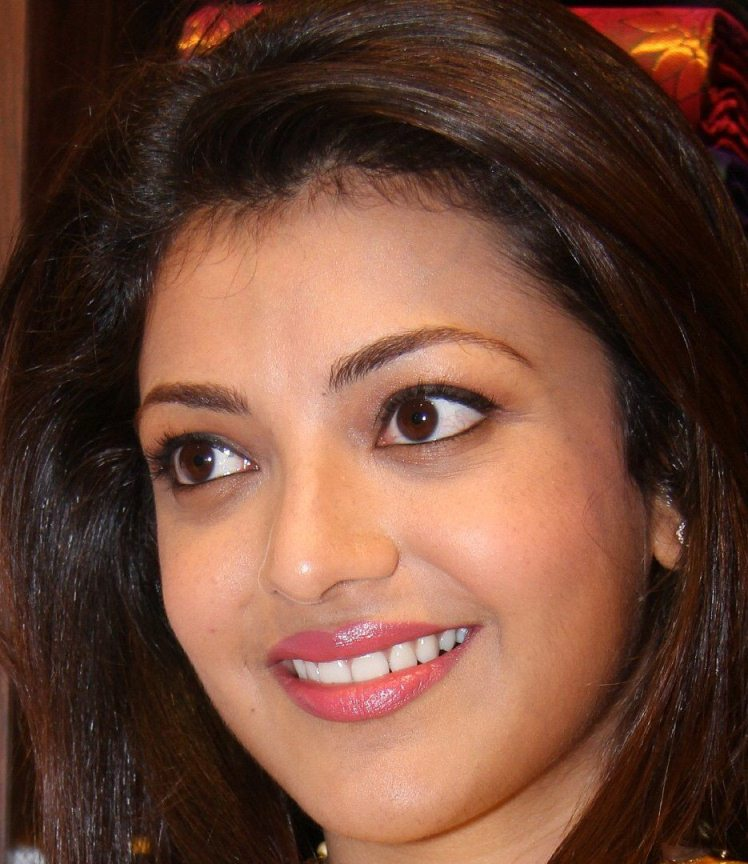 Bollywood Actress Kajal Aggarwal Oily Face Close Up Photos