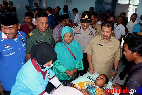 150 Orang Peserta Disunat Massal
